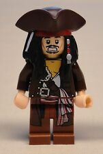 x1 NEW Lego Captain Jack Sparrow Minifig Pirates of the Caribbean 4195 4193 4194