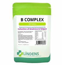 Vitamin B Complex B1, B2, B3, B5, B6, B9, B12, Folic Acid 3-PACK 300 Tablets