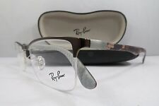 Ray-Ban RB 8413 2892 Bronze Carbon Fiber New Authentic Eyeglasses 54mm w/Case
