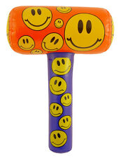 15x GONFLABLE SMILEY MAILLET 48CM