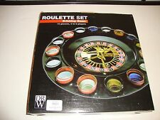 Adult Party Shot Glass Roulette Wheel Table Drinking Game