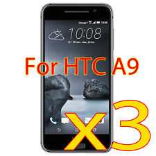 3 Pcs HD Clear Screen Protector Shield Cover for 2015 HTC One A9
