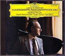 Maurizio Pollini: Beethoven Piano Concerto 2 4 Karl Böhm Bohm cd pianoforte concerti