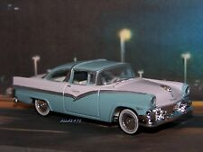 1956 56 FORD CROWN VICTORIA COLLECTIBLE  DIECAST MODEL - 1/64 SCALE DIORAMA