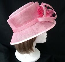 PINK HAT SIZE 6 7/8 by Classic Millinary