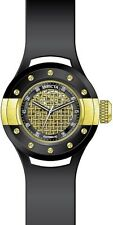 Invicta S1 Rally Automatic Gold Dial Black Polyurethane Mens Watch 20103