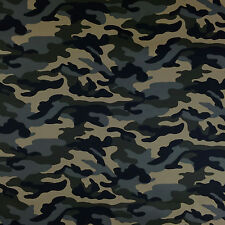 Dawn Grey Camouflage Army Pattern Polyester Camo Fabric Material By the Metre