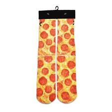 1 Pair Bacon Pizza 3D Print Socks Cotton in Tube Sox Autumn Winter Sports Casual