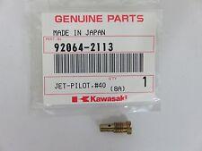 OEM Kawasaki Mule 2500 25010 KAF620 Carburetor Pilot Jet #40 92064-2113