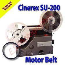 Cinerex su-200 Sound 8mm CINE PROIETTORE Belt (motore principale Cintura)