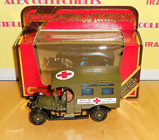 "Matchbox Models of Yesteryears Y25-1.E1 1910 RENAULT TYPE AG AN ""AMBULANCE"""