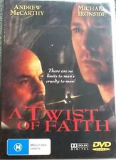 A Twist Of Faith DVD Andrew McCarthy, Michael Ironside # A440