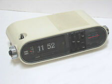 vintage ALLIED Digichrom V # 12-5012 Alarm FLIP Clock / AM, FM Radio   Perfect