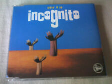 INCOGNITO - GIVIN' IT UP - 4 MIX DANCE CD SINGLE