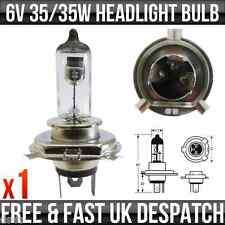 6v 35/35w H4 P43T Classic Motorcycle Scooter Car Halogen Headlight Bulb 476A x 1