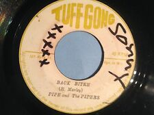 TUFF GONG . ORIGINAL . BACK BITER . PIPE & the PIPERS
