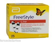 FreeStyle Lite 75 Strisce reattive - Glicemia Diabete + 50 Lancette Pungidito