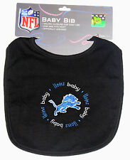 Detroit Lions NFL Baby Bib, One size fits most, New!