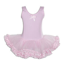 NEW Girls Rosa Balletto Danza Tutu Vestito 5-6 anni