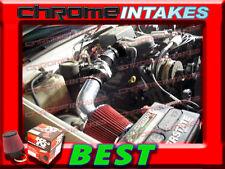 K&N+BLACK RED 96-00 GMC/CHEVY SIERRA C/K 1500/2500/3500 5.0L/5.7LAIR INTAKE 2P