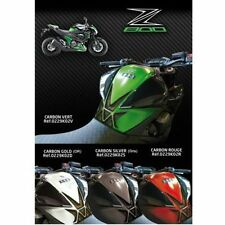 Protection de reservoir Moto KAWASAKI Z800  / Z 800 E CARBON VERT  / GREEN
