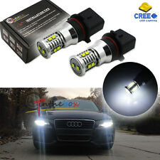 2x Xenon White 50W P13W CREE LED Bulbs For Audi A4 Q5 Daytime Running Lights DRL