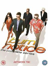 Burn Notice TV Series Complete Season 1-7 1 2 3 4 5 6 7 New DVD Box Set