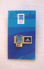 ADIDAS COLLECTIBLE PIN OF ATHENS 2004 OLYMPIC GAMES IN BLACK
