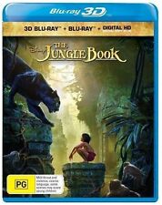The Jungle Book 3D & 2D (Blu-ray, 2016) Brand new & sealed