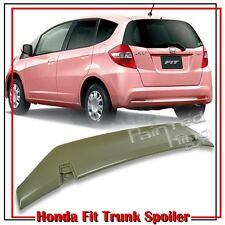UNPAINTED FOR HONDA 2ND FIT JAZZ HATCHBACK REAR OE TRUNK SPOILER 2012