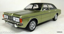 BoS 1/18 Scale 183924 Ford Taunus GXL Green metallic MK3 Cortina Resin Model Car