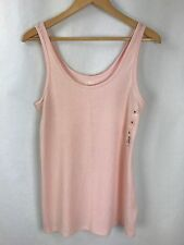 New So Women's Peach Soft Perfect Fitted Tank Top Size XL NWT