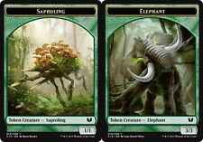 Token - Saproling // Elephant X4 (Commander 2015) MTG (NM) *CCGHouse* Magic