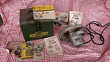 Vintage Skil Saw w/ box and manuals