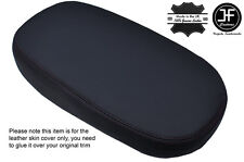 BLACK STITCHING LEATHER ARMREST COVER FITS KIA SOUL 2014-2016