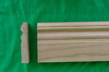 "Lot of 10 pcs 5/8"" X 4""  Oak Base moulding / trim"
