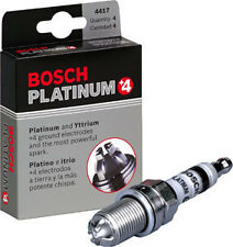 6 New BMW Spark Plugs OEM Bosch Platinum+4 Factory High Power E39 E46 M54 # 4417