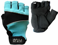 LTB GEL PADDED CYLING / CYCLE / BIKE / BICYCLE MTB / SPORTS / GYM WORKOUT GLOVES