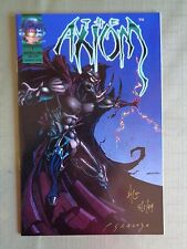 The Axion Ashcan edition Signed Rare VF/NM