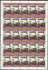 1902 GNR / LNER Ivatt Class C1 4-4-2 Train 50-Stamp Sheet (Leaders of the World)