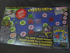 PIRACY...the BOARD GAME...new in plastic...C64 game.....
