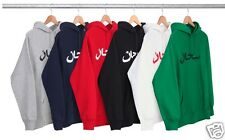 Supreme Arabic Hoodie New Sealed In Bag Black Large L Box Logo Authentic