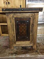 Rustic Bathroom Wood Vanity for Single Vessel Sink