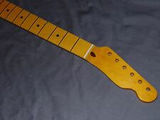 NOS 7.25 C maple fender lic. Nitro Neck will fit Telecaster tele mjt guitar body