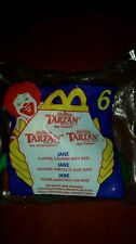 2000 McDonalds Disney Tarzan #6 Jane Figurine Toy NIP