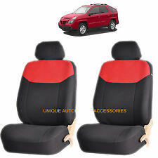 RED ELEGANT AIRBAG COMPATIBLE LOWBACK SEAT COVER SET for PONTIAC GRAND PRIX