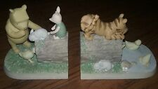Disney Winnie the Pooh Classic Bookends by Michel & Co. Tigger Piglet Book Ends