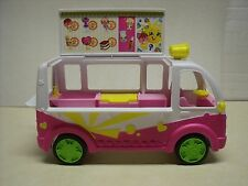 Shopkins Scoops Ice Cream Truck Exclusive Season 3 Food Fair –TRUCK ONLY