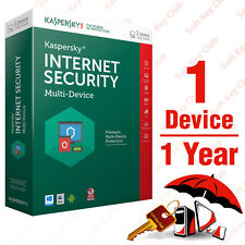 KASPERSKY INTERNET SECURITY 2016 multi-device 1PC/1YEAR | DOWNLOAD | NO CD