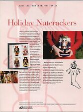 #4360-63 42c Holiday Nutcrackers USPS #828 Commemorative Stamp Panel